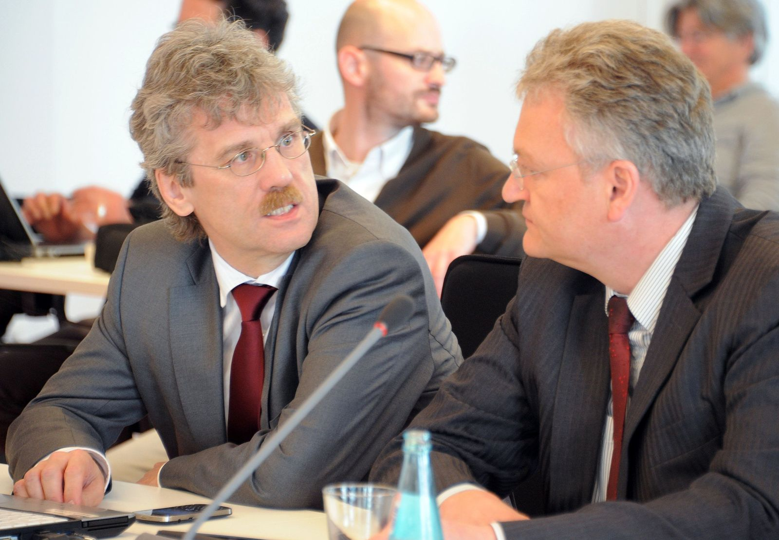 Jörg Marks und Jochen Großmann (l.)
