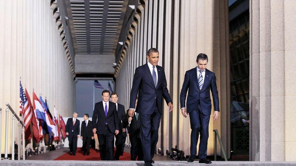 Nato-Führer beim Gipfeltreffen in Chicago(*): »In Kernbereichen kein Konsens«