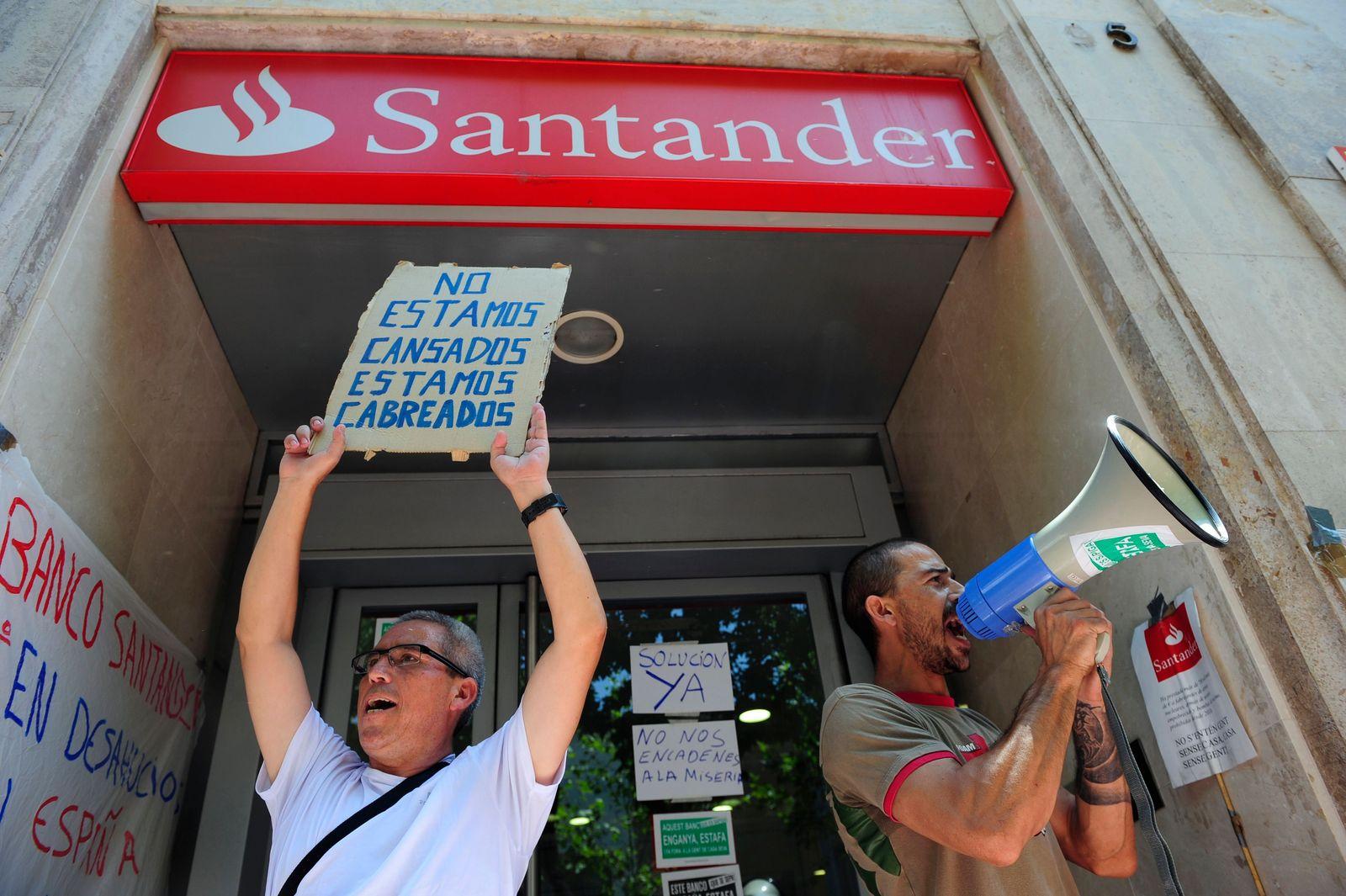 Spanien / Bank Santander