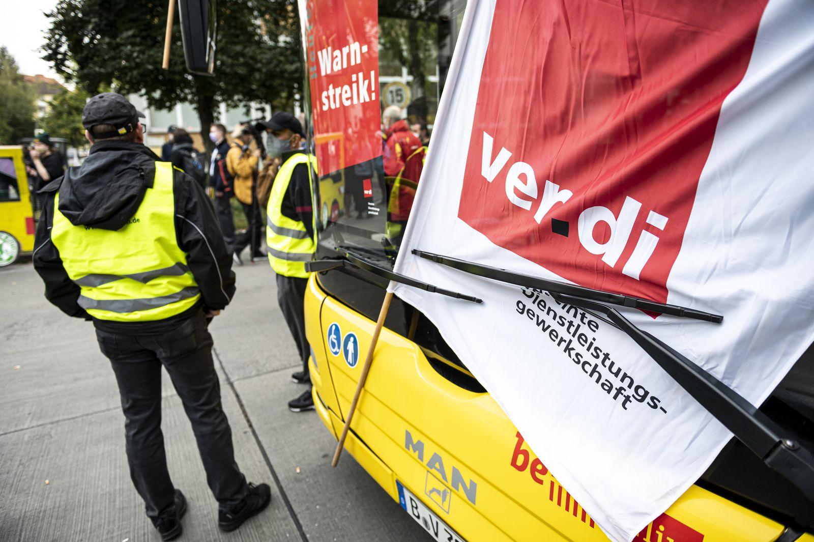 Warnstreiks im öffentlichen Dienst - Berlin