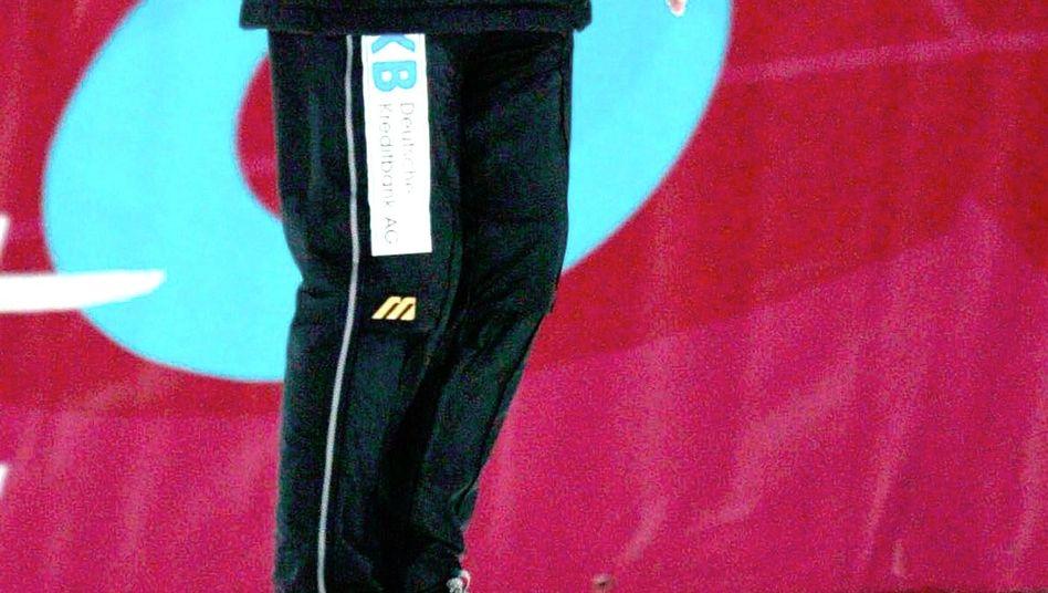 Trainer Ebert: Ein Teil der neuen Doppelspitze