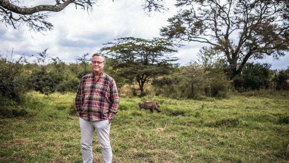Schriftsteller Jonasson in Kenia