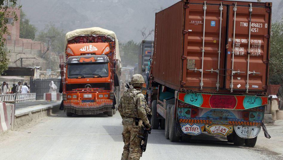 US-Soldat an afghanisch-pakistanischer Grenze: Korruption bei Lastwagenkonvois