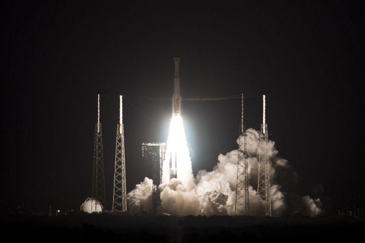 Nasa-Angaben zufolge soll die Mission nun schon nach 48 Stunden mit der Landung auf der Erde wieder enden