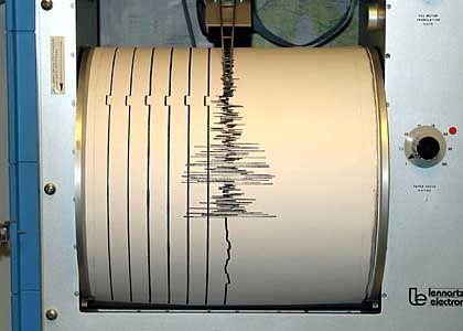 Seismograph: Die Nadel schlug wild aus