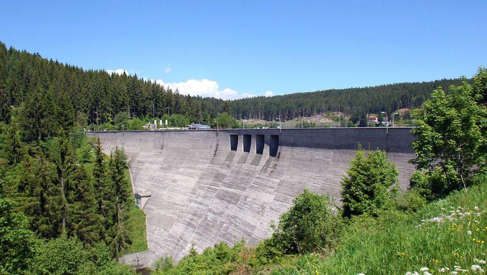 Staumauer des Schluchsees