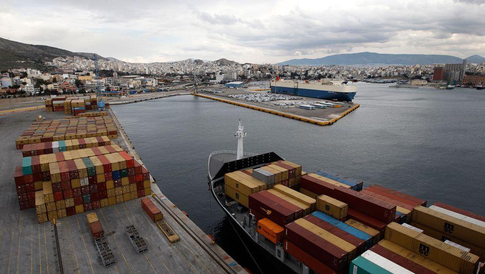 Griechischer Hafen: Piräus ist verkauft
