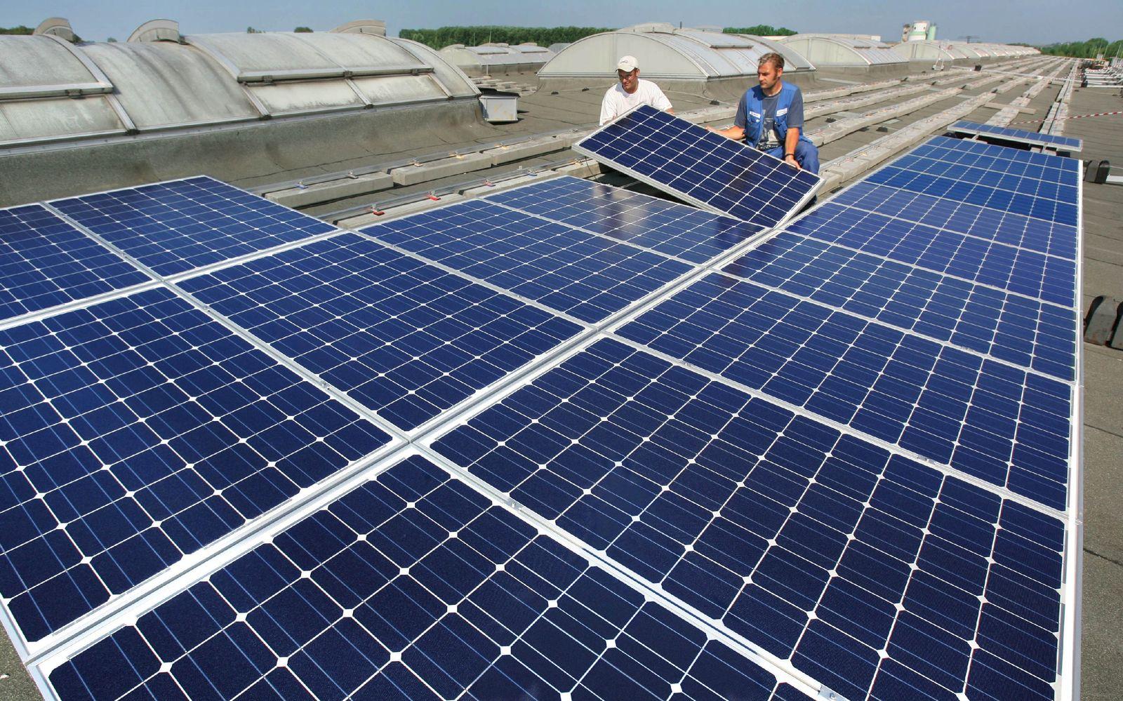 Solar-Energie/ Solarzellen