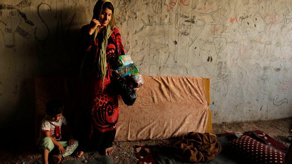 Irakische Frau aus Sinjar: Womöglich Tausende in der Gewalt des IS?