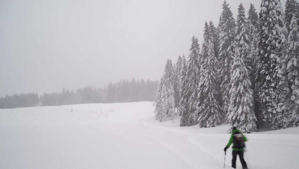 Lawinengefahr: Sicherheitstraining bei Skitouren