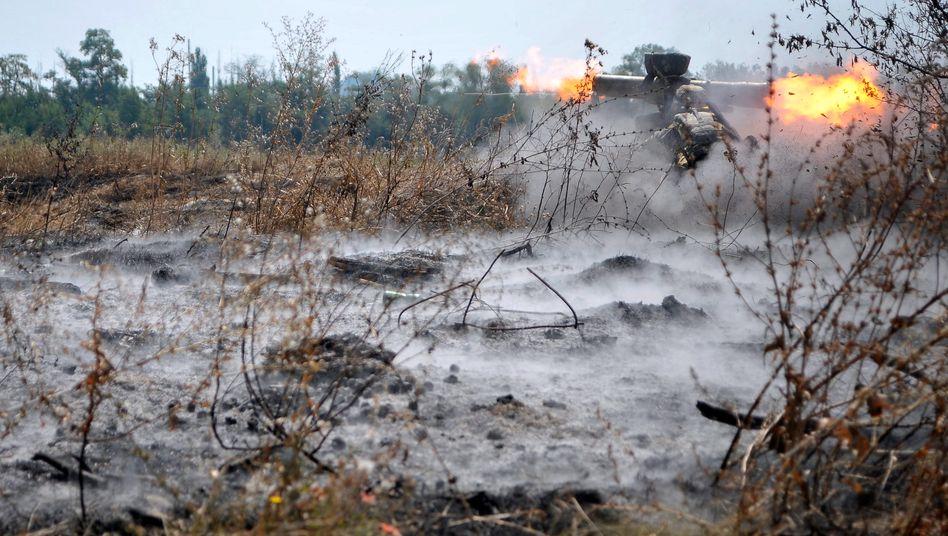 Gefechte im Donbass