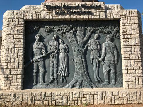 Denkmal zur Erinnerung an den Völkermord in Windhoek