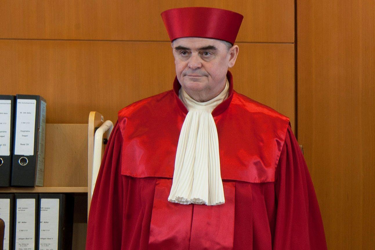 NPD Verbotsverfahren / Peter Müller