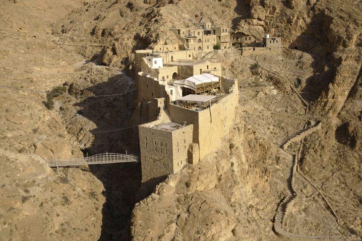 Das Mar Musa Kloster liegt zwischen Damaskus und Homs