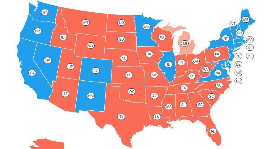 Usa Wahl Ticker