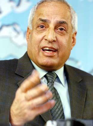 Amer al-Saadi hat sich als erstes Mitglied der irakischen Führungsriege ergeben