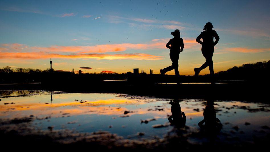 Joggen am frühen Morgen: Selbst wenig Zeit sollte genutzt werden
