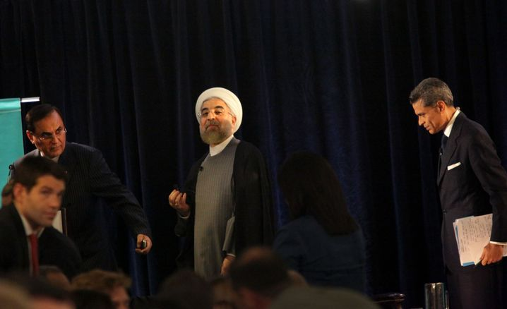 "Irans Präsident Rohani: ""Sieg der Diplomatie"""