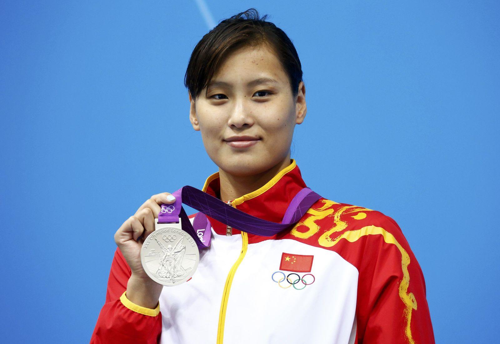 Lu Ying Silbermedaille