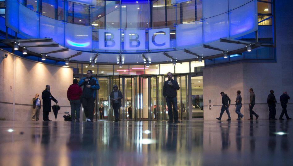 BBC-Zentrale in London: Krimineller bot Zugangsdaten zum Verkauf