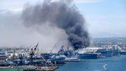 Mehr als 20 Verletzte nach Explosion auf US-Helikopterträger