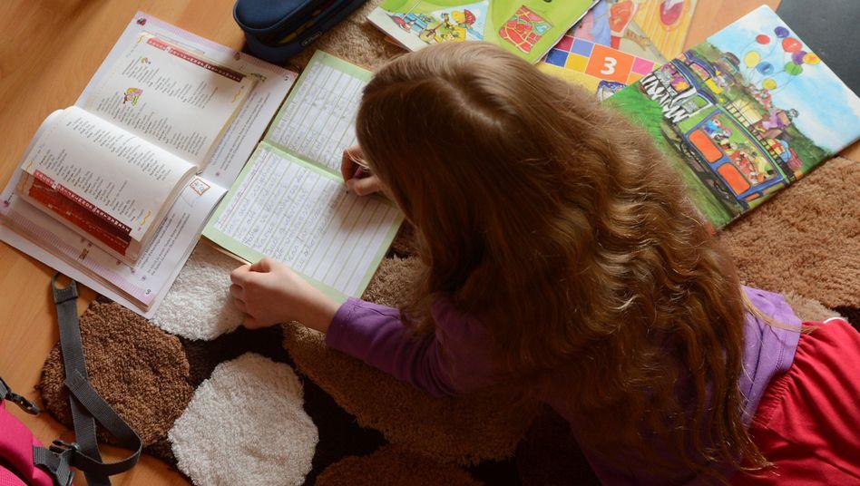 Hausaufgaben: immer wieder Zoff in den Familien