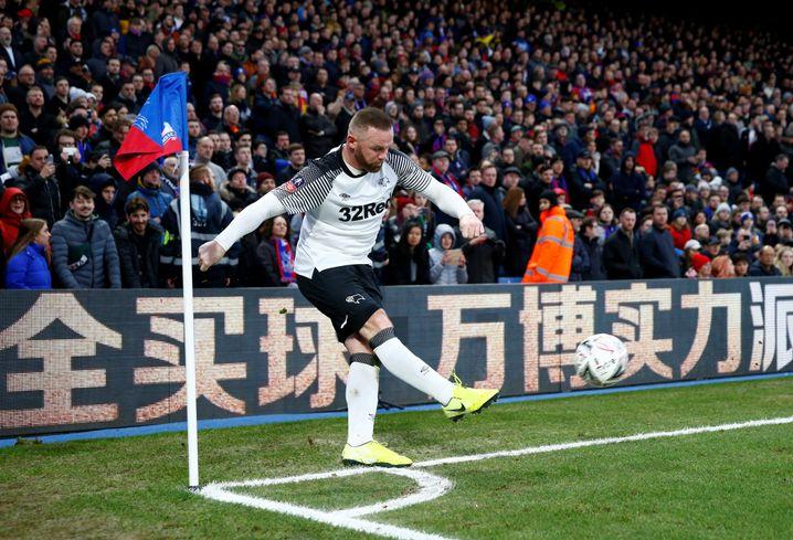 Wayne Rooney überzeugt bei Derby County als Spielmacher