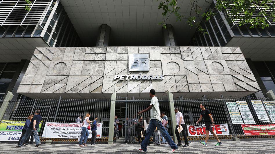 Zentrale von Petrobras in Rio de Janeiro: ES geht um einen Schaden von mehreren Milliarden Euro