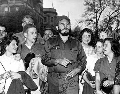 Fidel Castro 1959: Seit 45 Jahren als Diktator an der Macht