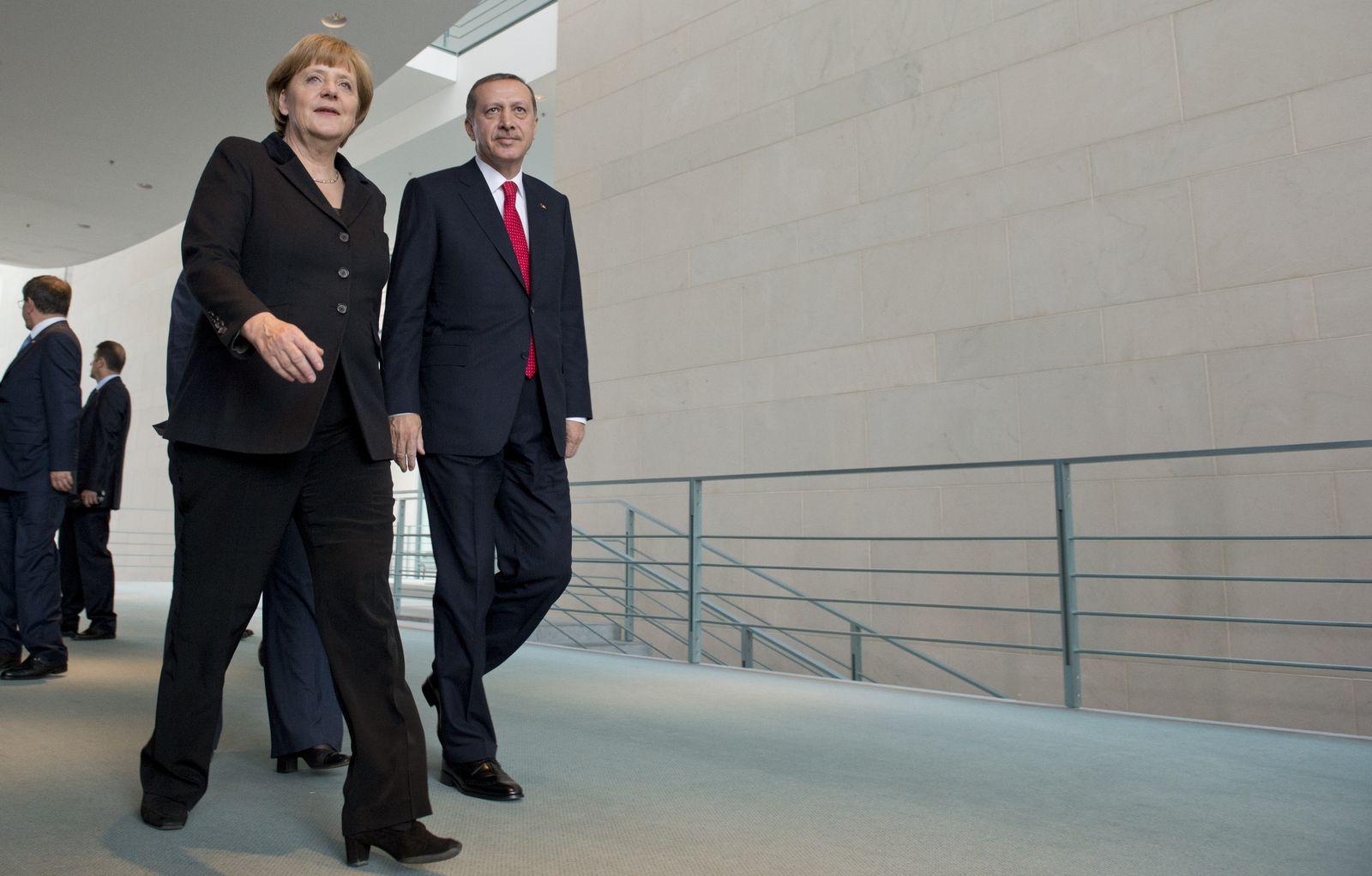 NICHT VERWENDEN Merkel / Erdogan