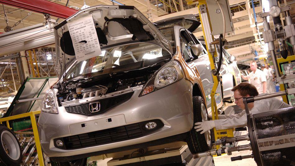 Die Honda-Produktion im englischen Swindon musste nach einem Hackerangriff unterbrochen werden