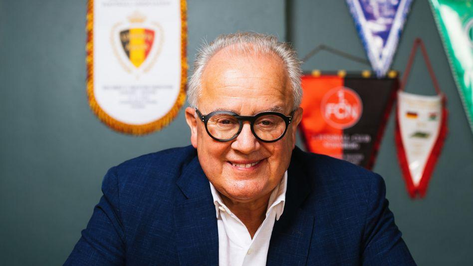 DFB-Präsident Fritz Keller in seinem Restaurant am Kaiserstuhl