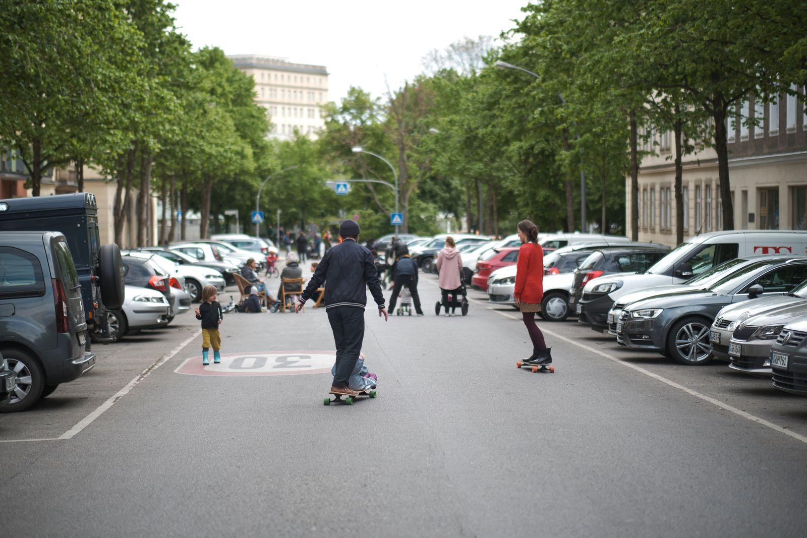 Temporäre Spielstraßen Berlin Bänschstraße