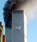 The Sept. 11 terrorist attack on the World Trade Center
