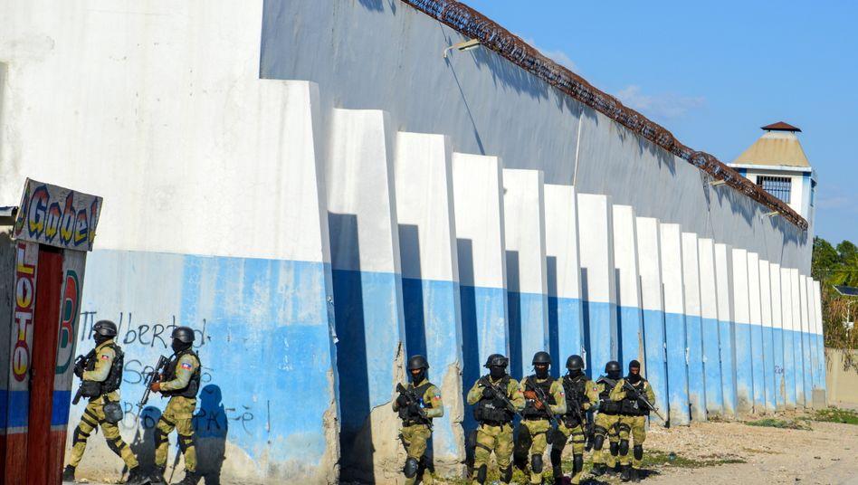 Hochsicherheitsgefängnis in Haiti