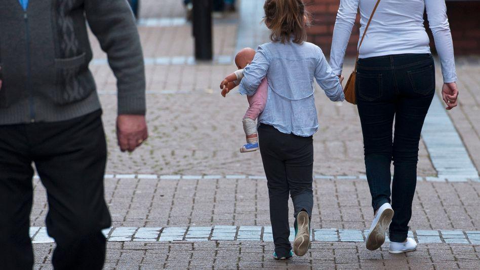 Straßenszene in Rotherham (Archiv): Das jüngste Opfer war elf Jahre alt
