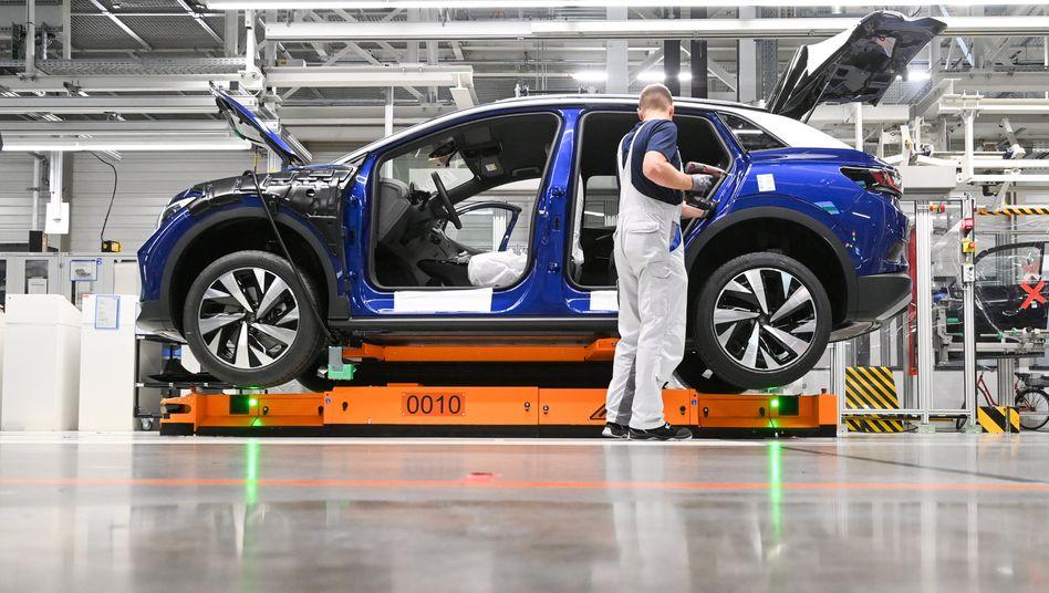 Volkswagenwerk Zwickau: Positiver Trend bei Elektro- und Hybridautos