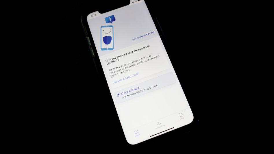 Corona-Tracking-App: TraceTogether aus Singapur