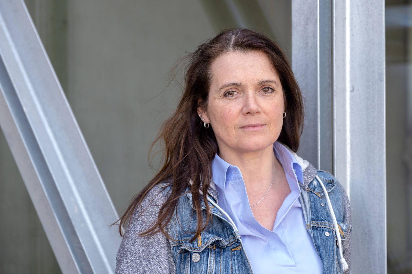 Barbara Junge eine der drei Chefredakteure der taz in Berlin Foto vom 04 04 2019 Am 17 April 20