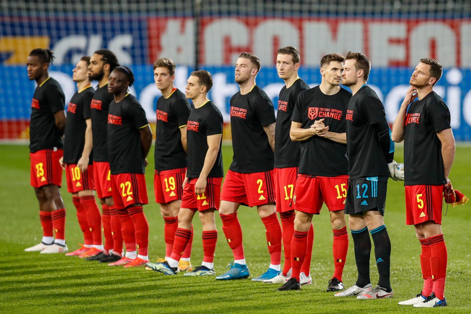 Belgium Belarus WCup 2022 Soccer