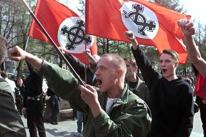Neonazis in Moskau: Bleibt besser zu Hause, raten die Unis ausländischen Studenten
