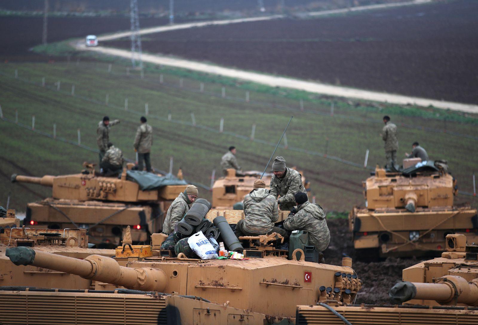 Türkei/ Leopard 2 Panzer