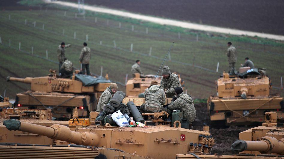 Leopard-Panzer der türkischen Armee