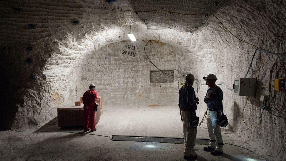 Bergmänner in Gorleben: Keine Castor-Behälter aus dem Ausland mehr