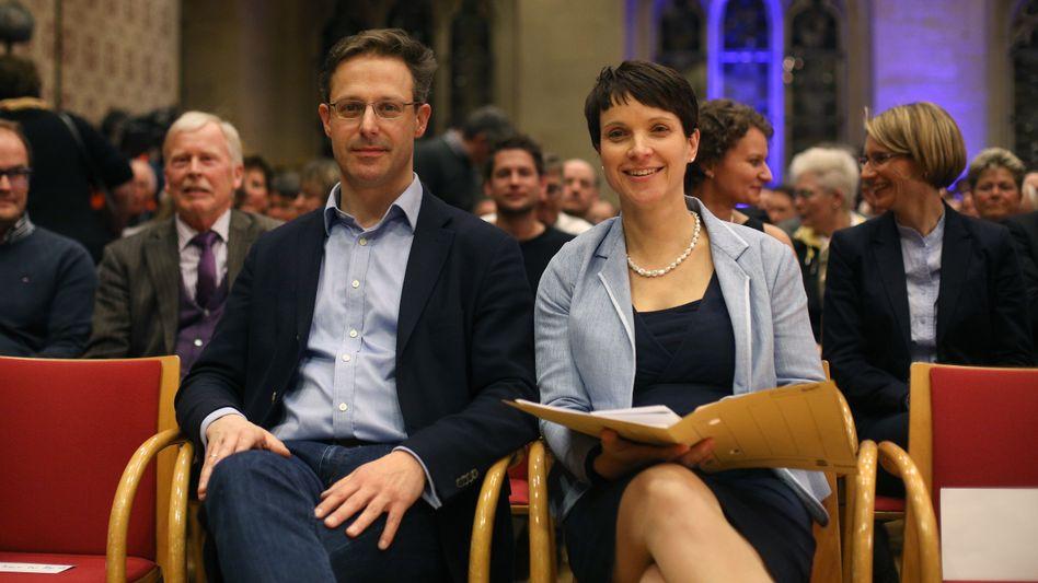 Frauke Petry und ihr Mann Marcus Pretzell