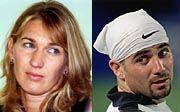 Neues Doppel? Steffi Graf, Andre Agassi