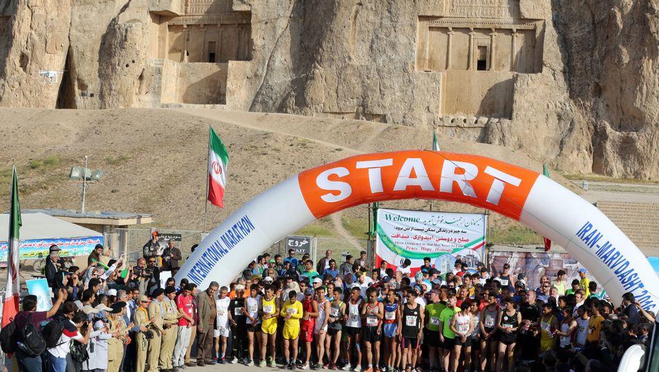 Marathon in Iran
