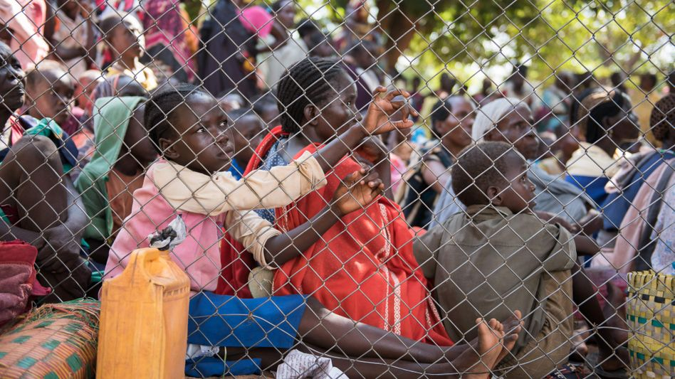 Flüchtlingskinder in der südsudanesischen Stadt Wau