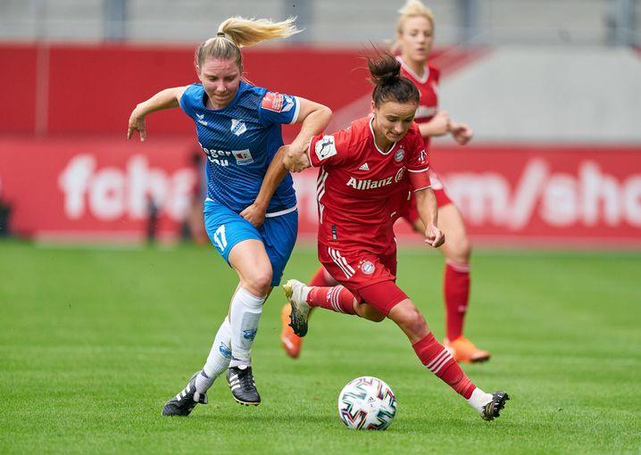 Magull will in ihrem dritten Jahr beim FC Bayern die Meisterschaft gewinnen