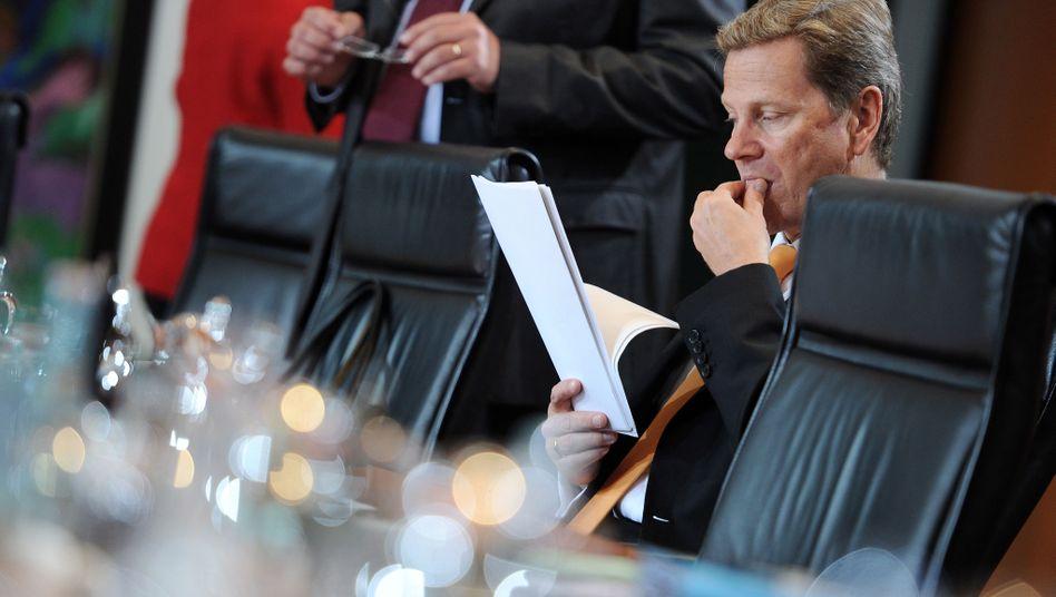 """Umstrittener Außenminister Westerwelle: """"Da hat Kohl recht"""""""